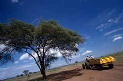Road transport in Uganda. Stock Photography