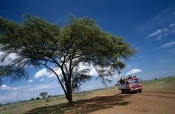 Road transport in Uganda. Royalty Free Stock Photo