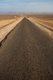 The road less traveled in Morocco Stock Image