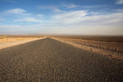 The road less traveled in Morocco Royalty Free Stock Image