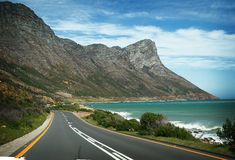 Road Trip. Mountains on the Southern Coast of Africa Royalty Free Stock Images