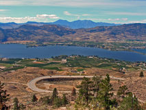 Road Trip 2. Taken in Osoyoos, BC, Canada. This is desert country where much of our fruit and wine comes from stock image