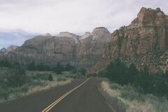 Road trip Stock Image