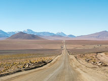 Road trip in the Andes Stock Images