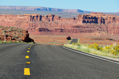 Road trip in Arizona, USA Royalty Free Stock Photo