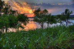 Road Trip: Blue Creek, Lake Oologah Stock Photo