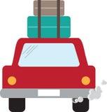 Road Trip Car Stock Photo