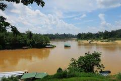Taman negara river royalty free stock image