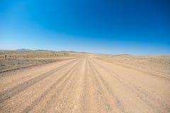 Road trip in the Namib desert, Namib Naukluft National Park, travel destination in Namibia. Travel adventures in Africa. Road trip in the Namib desert, Namib Royalty Free Stock Photo