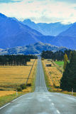 Road trip in New Zealand Stock Photo