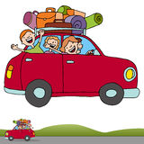 Road Trip Profile Banner Stock Photography