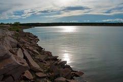 Road Trip: Santa Rosa Lake Royalty Free Stock Photography