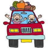 Road Trip Seniors Royalty Free Stock Image
