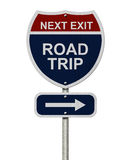 Road Trip Sign Stock Photo