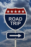 Road Trip Sign Royalty Free Stock Photography