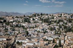 Beautiful Andalucía, España. Road trip throught beautiful and colorful landscapes and towns of Andalucia Stock Image