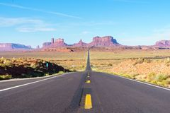 Monument valley. Road trip to Monument Valley, Arizona, USA. Photo Taken On: Septembre 12th, 2017 royalty free stock images