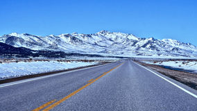 Road trip to Nevada. Royalty Free Stock Image