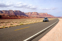 Road Trip through Vermilion Cliffs National Monume. Nt in the morning Stock Photos