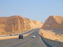 Road trough the Desert Royalty Free Stock Photo