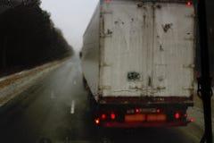 Road, truck photo Stock Photos