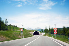 Road tunnel Stock Image