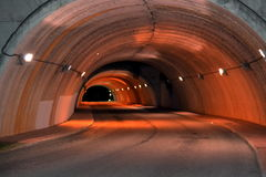 Road tunnel Royalty Free Stock Photo