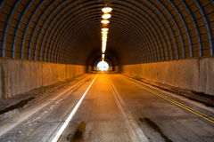 Road tunnel Stock Photography