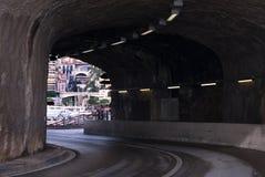 Road Tunnel, Monte Carlo, Monaco Stock Photography