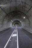Road tunnel vertical Stock Photography