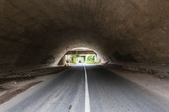 Road Tunnels Three Royalty Free Stock Photos