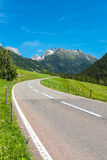 Road Turn in Mountains Stock Photos