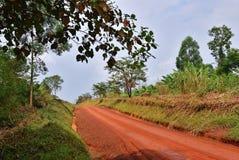Road in Uganda, Africa Stock Photo