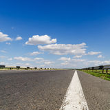 Road under blue sky Royalty Free Stock Image