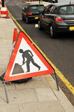 Road under construction Royalty Free Stock Photos