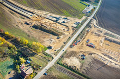 Road under construction Royalty Free Stock Image