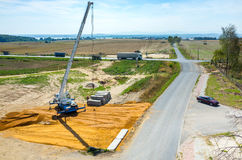 Road under construction Royalty Free Stock Images