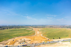 Road under construction Royalty Free Stock Photography
