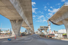 Road under construction Stock Images