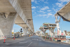 Road under construction Stock Image