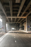 Road Under MRT Stock Photography