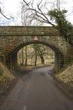 Road Under Railway Bridge Stock Photos