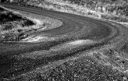 The Road. The unsealed road - good for transport / travel related needs Stock Photography
