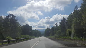 Road in Ural Royalty Free Stock Images