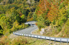 Road at Urbasa range, Navarre Royalty Free Stock Photo