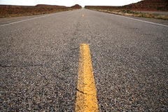 Road in the USA, south desert Utah Stock Image