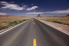 Road in Utah. Endless road in Utah, looking for freedom Royalty Free Stock Photos