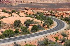 Road in Utah Stock Photo
