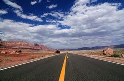 Road van Arizona Royalty-vrije Stock Afbeelding