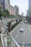 Road van China Chunxi Royalty-vrije Stock Afbeeldingen
